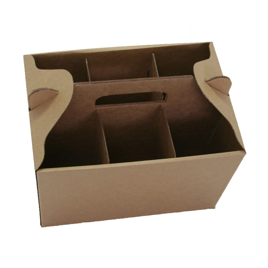 6 Bottles Wine Carry Pack - Open Top