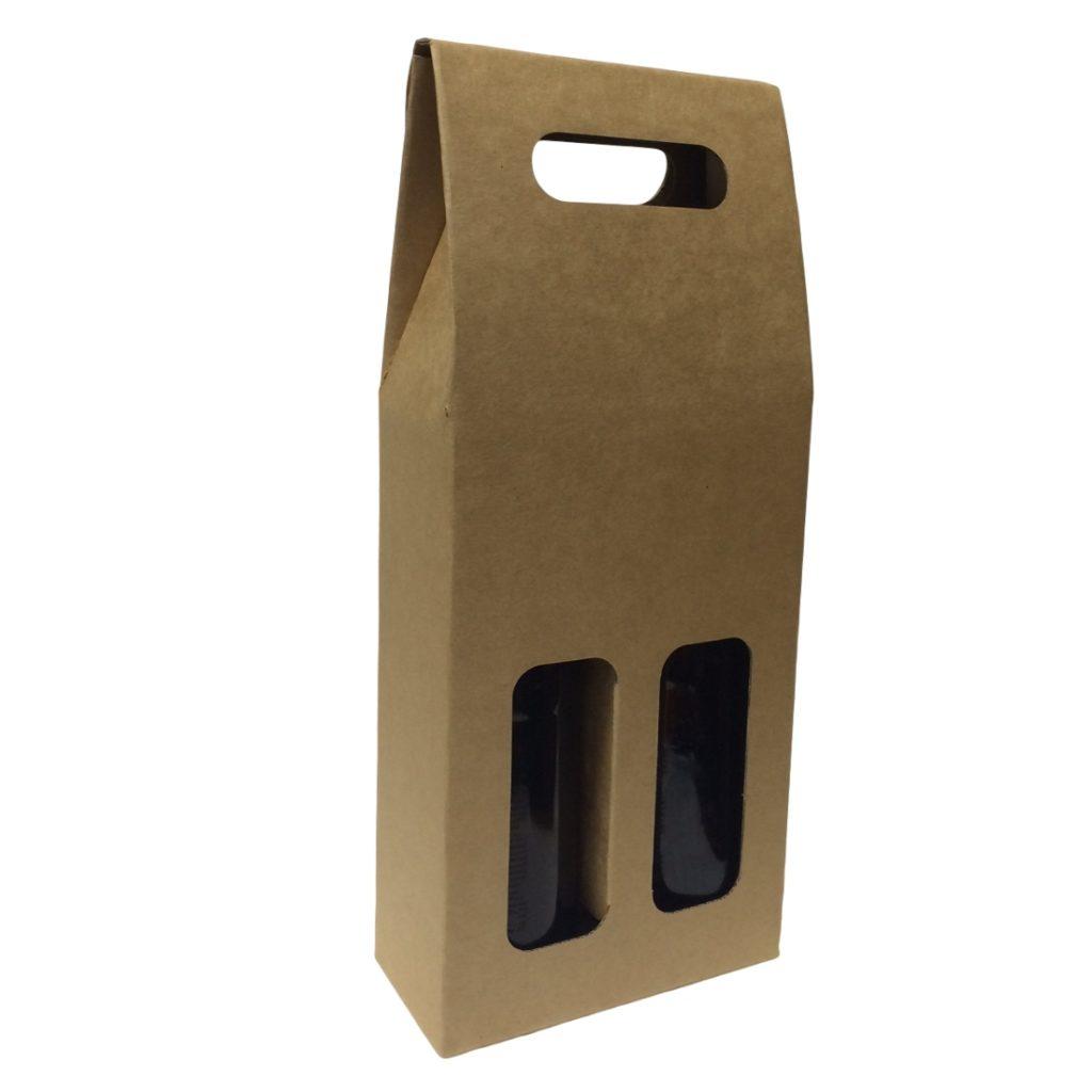 Beer Carrier Box - 2 Bottles
