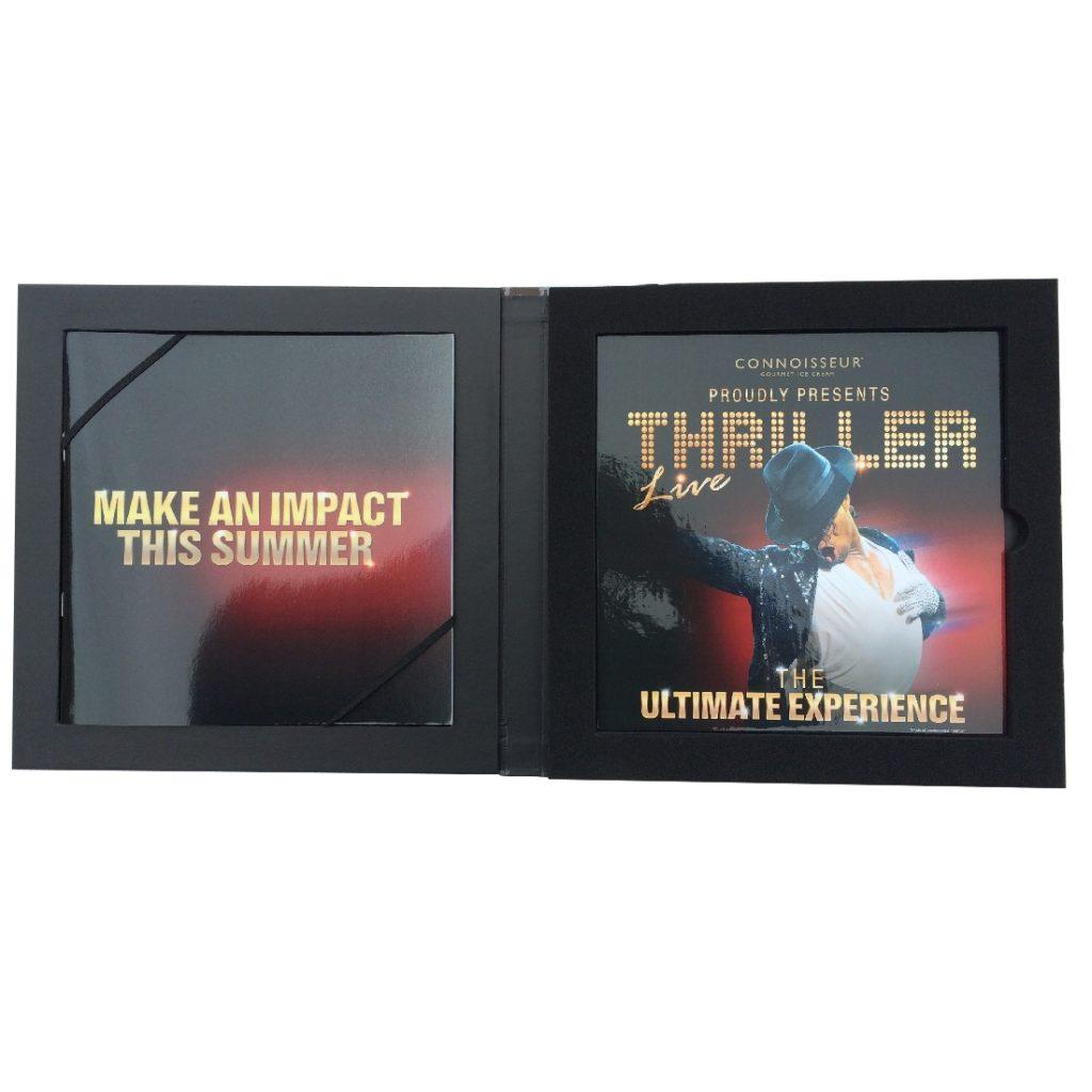 Custom CD Set Promo Box - Open