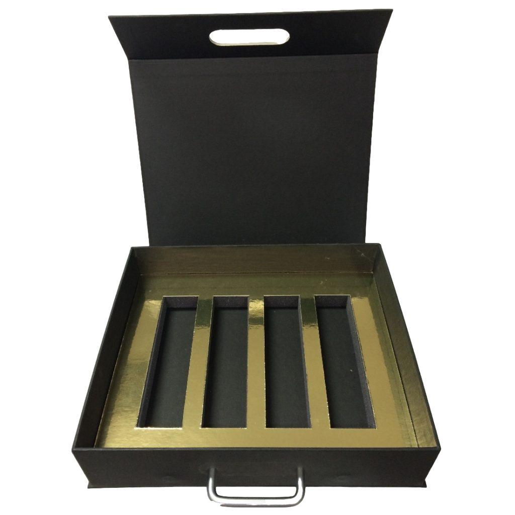 Custom Made Sample Presentation Case Open Duncan Packaging