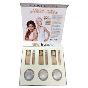 Custom Cosmetic Box - Open