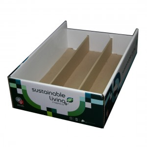 Printed Cardboard Tray with inserts (Code DP-030)
