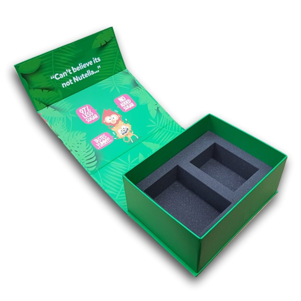 Product launch presentation kit box duncan packaging