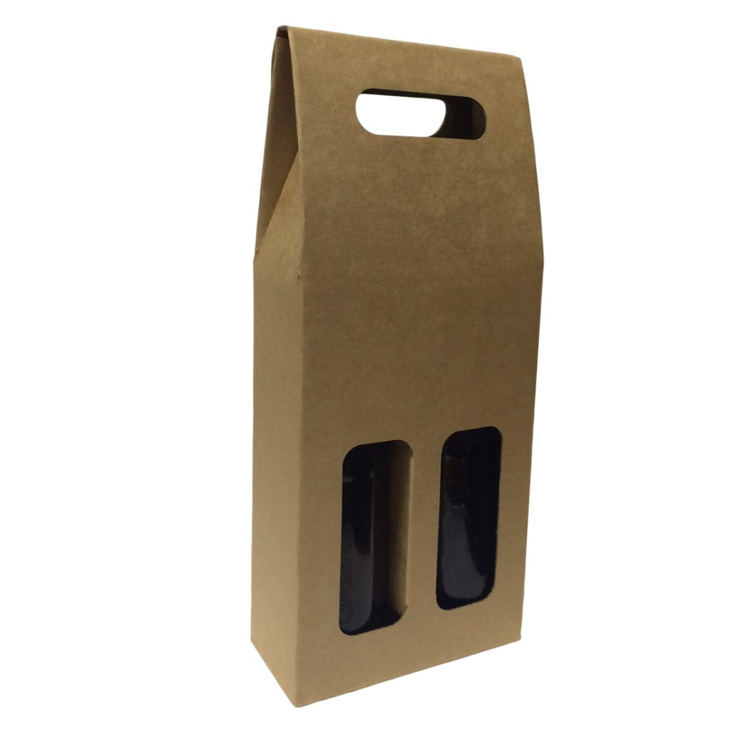 Beer Carrier Box - 2 Bottles