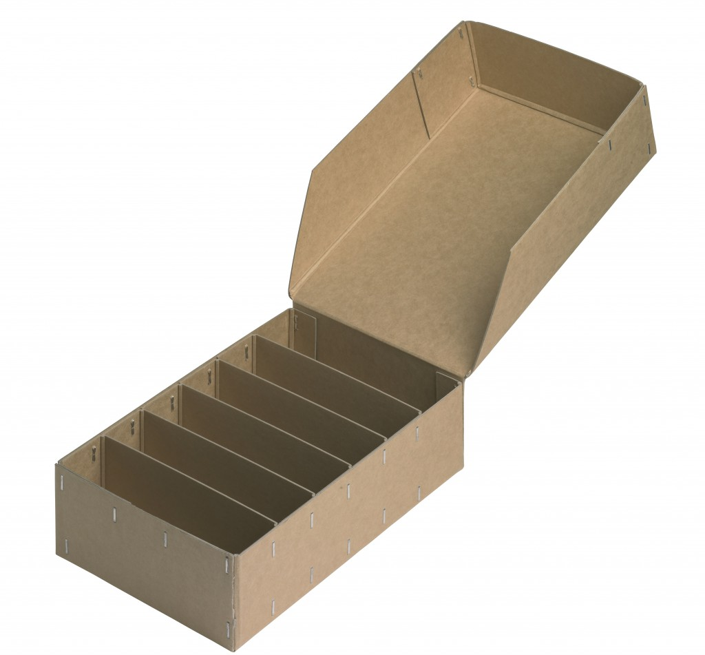 Cardboard Carton with dividers