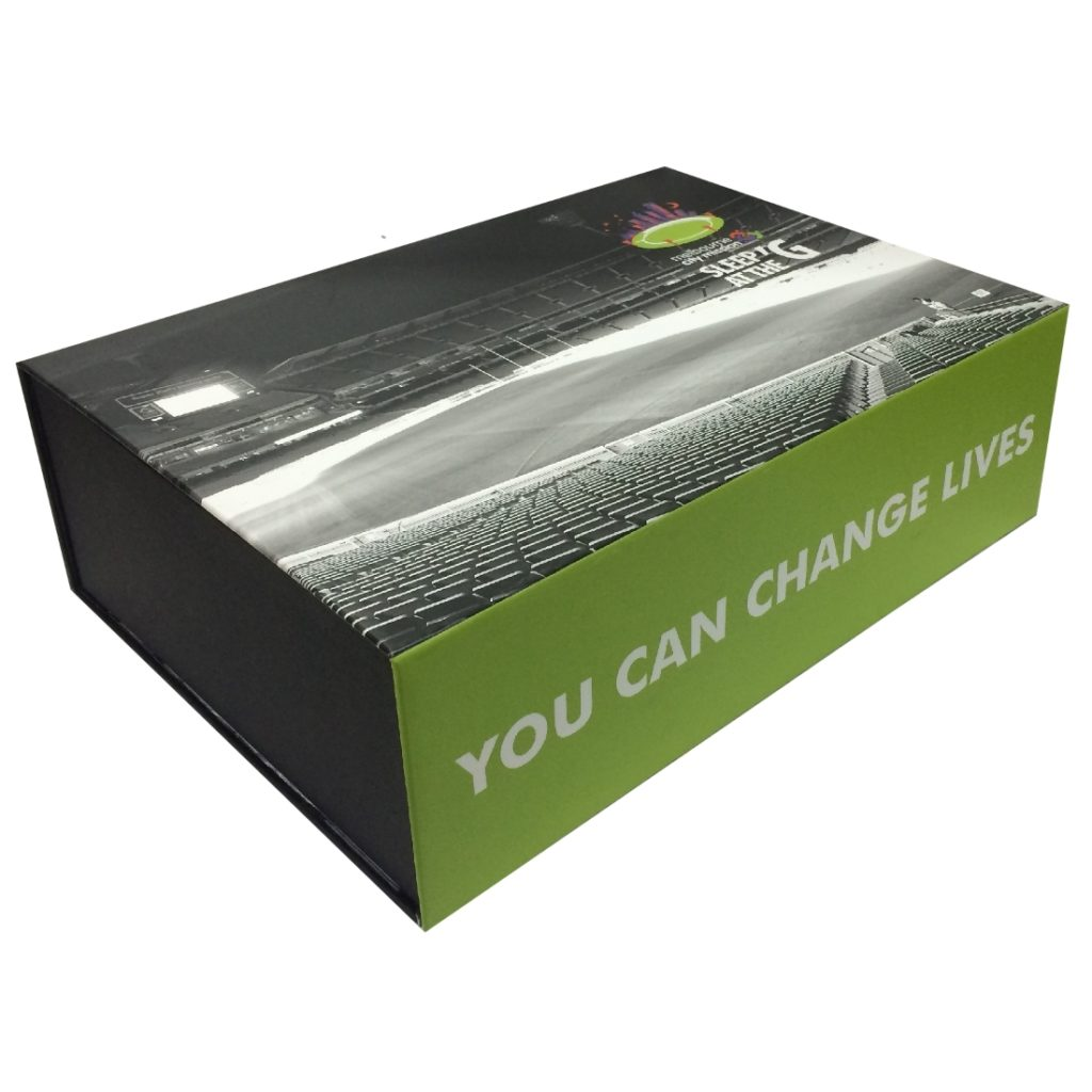 Custom Presentation Box with Magnetic Catch - Closed