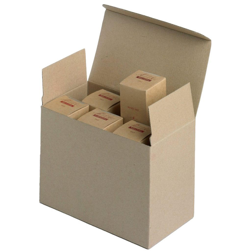 Custom Shipping Box with Printed Inner Units