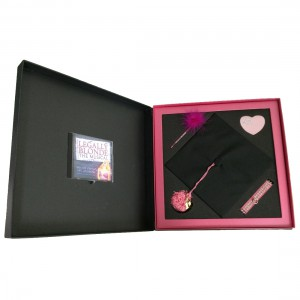 Musical Presentation Box with CD Insert & Product Insert