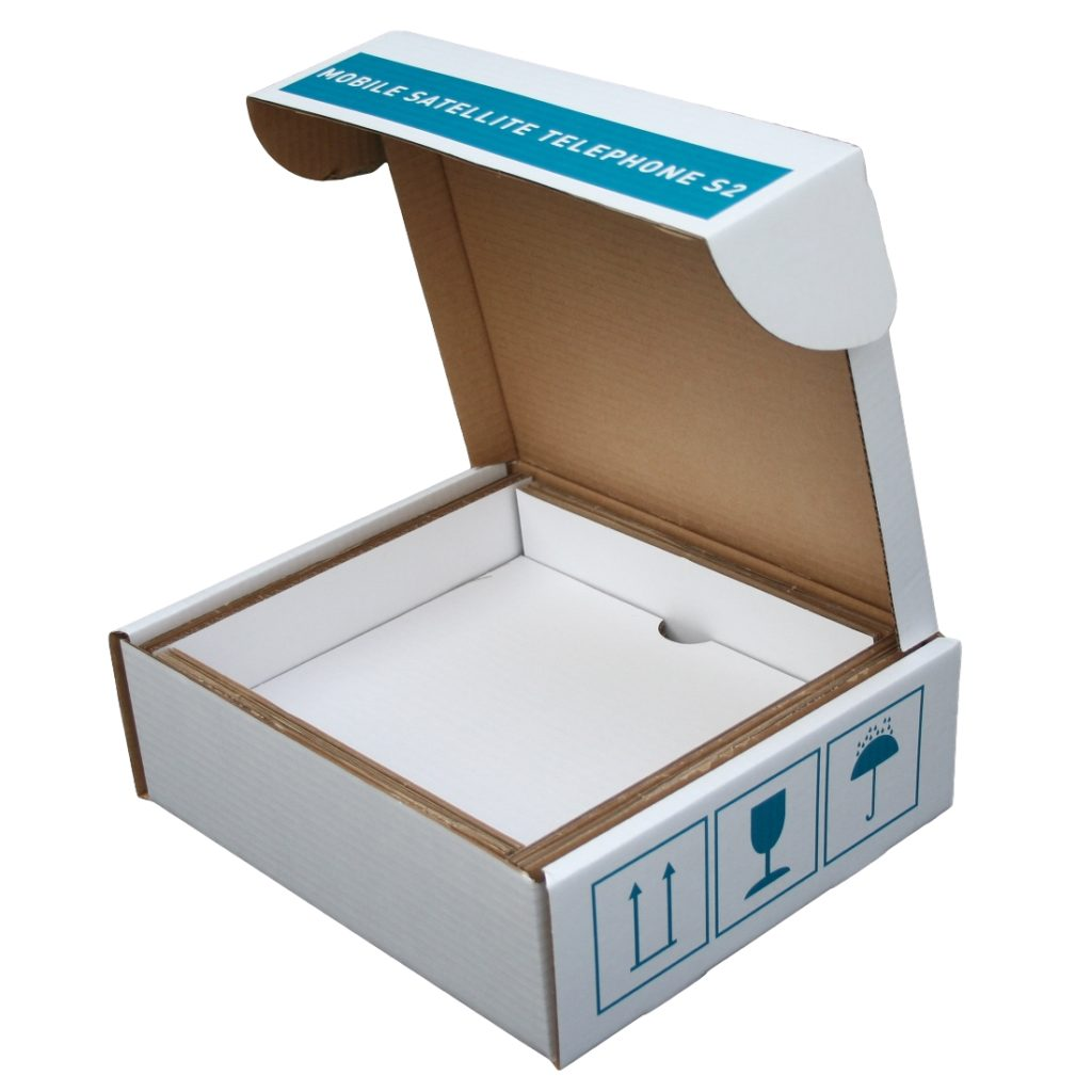 Printed Mailing Carton with Carton Insert