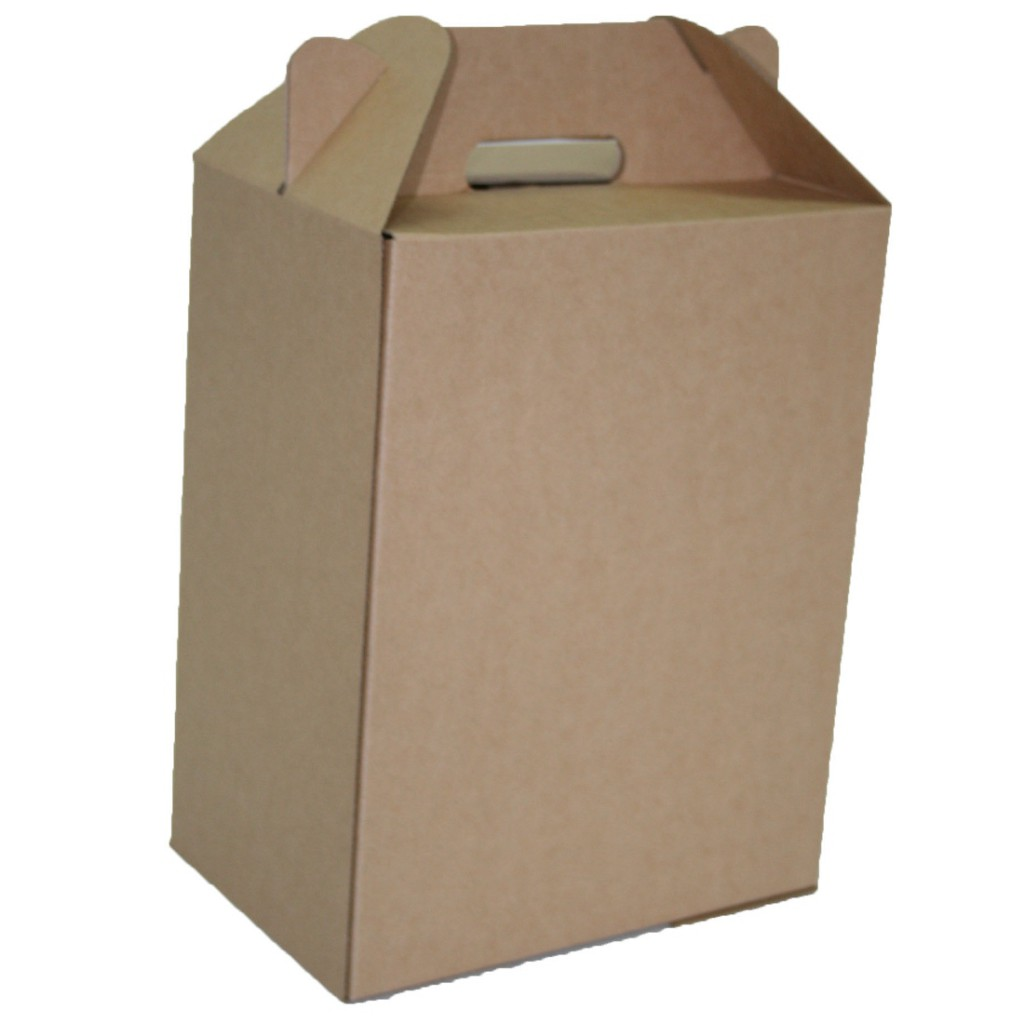 Wine Carrier Box - 6 Bottles - Closed Top