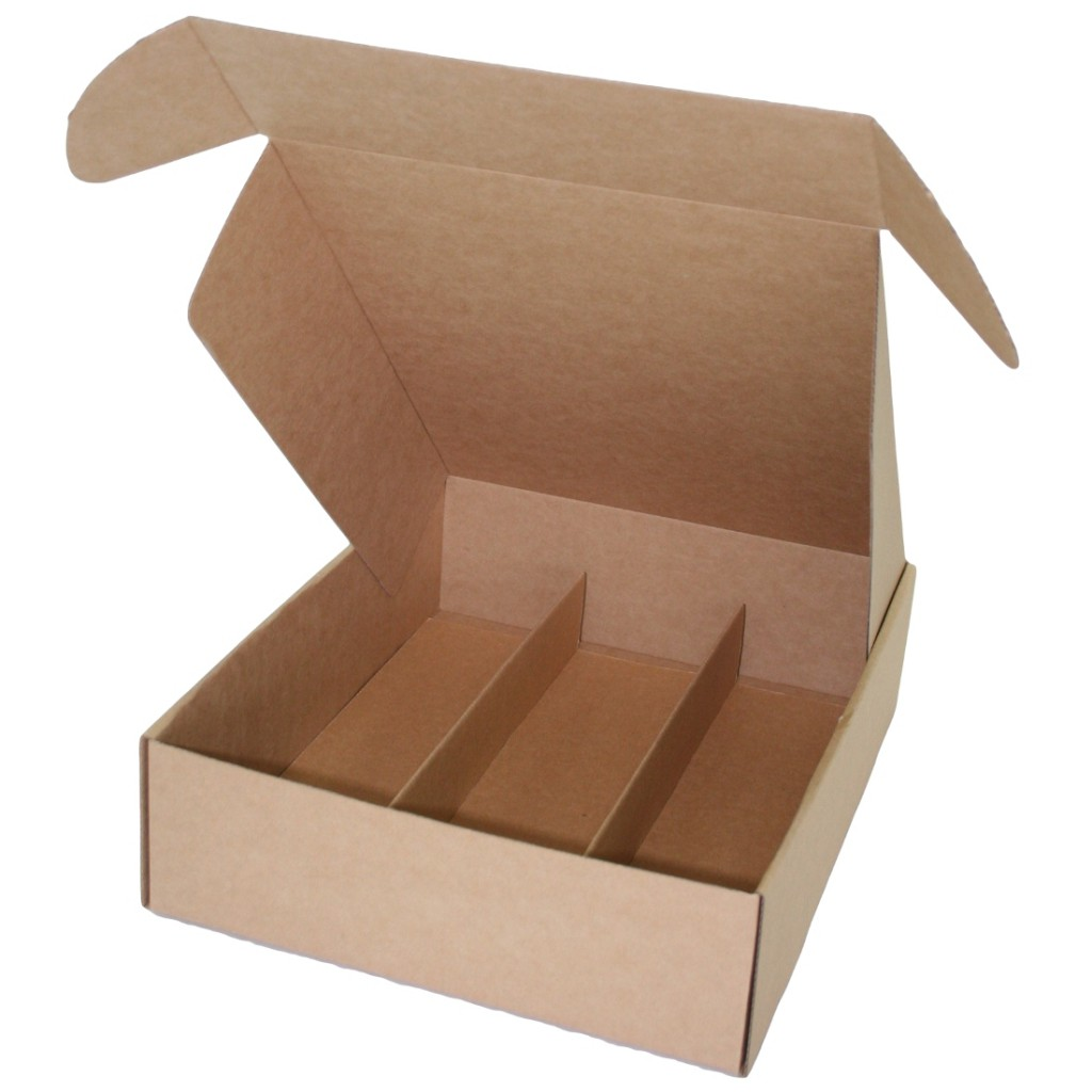 Wine Presentation Box - Standard Lay Down - 3 Bottles