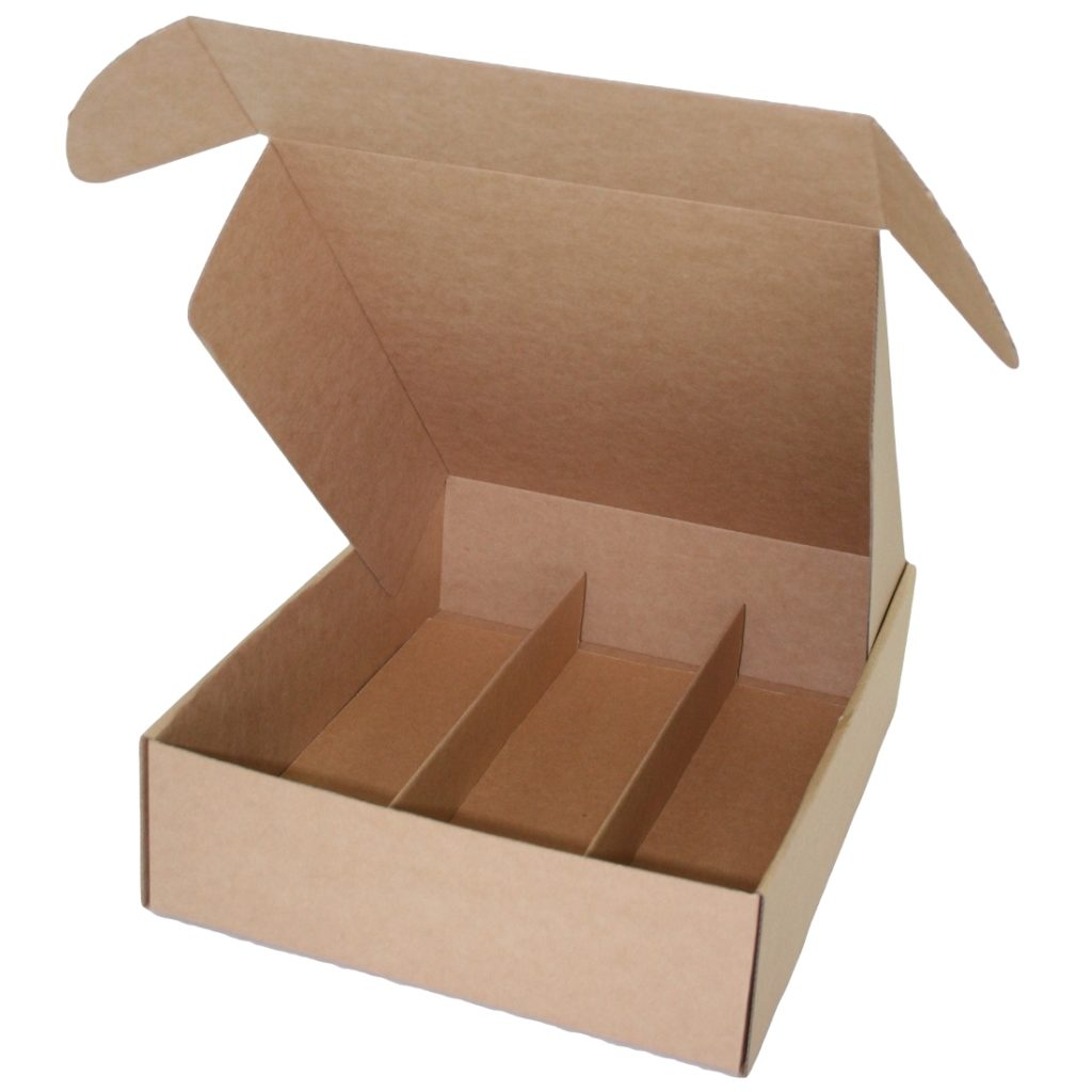 Wine Presentation Box - Standard Lay Down - 3 Bottles