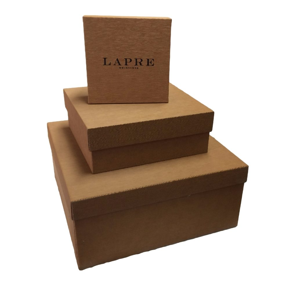 Leather Style Covered Promotional Box Duncan Packaging