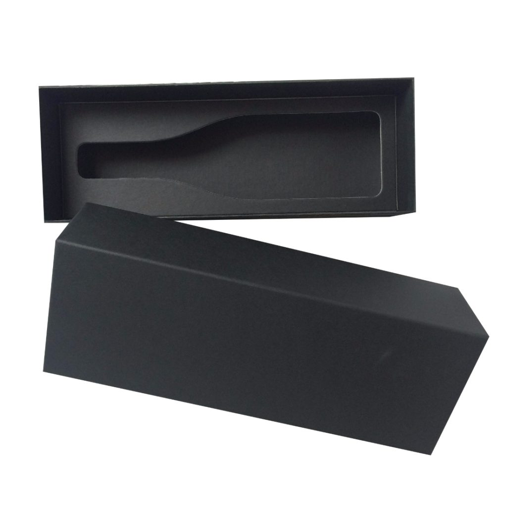 Single Wine Bottle Presentation Box with insert