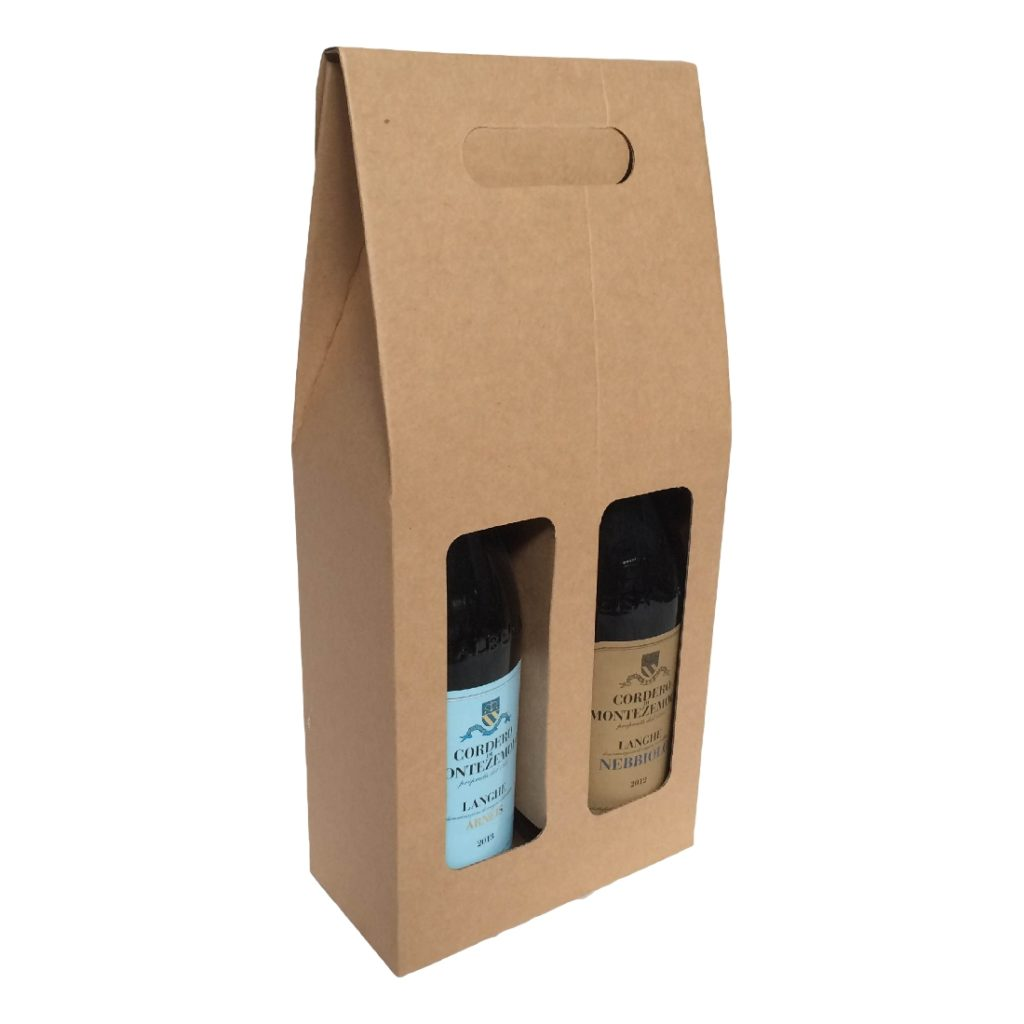 2 Bottle Wine Carry Pack