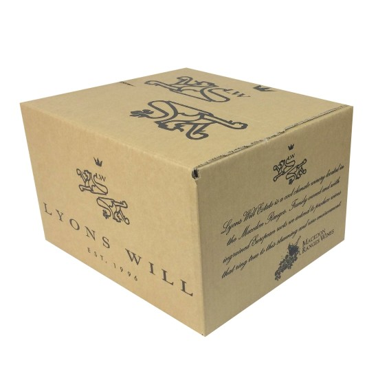 Wine Shipping Box - 6 Bottles