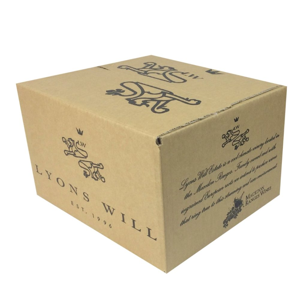 Wine Shipping Box - 6 Bottles