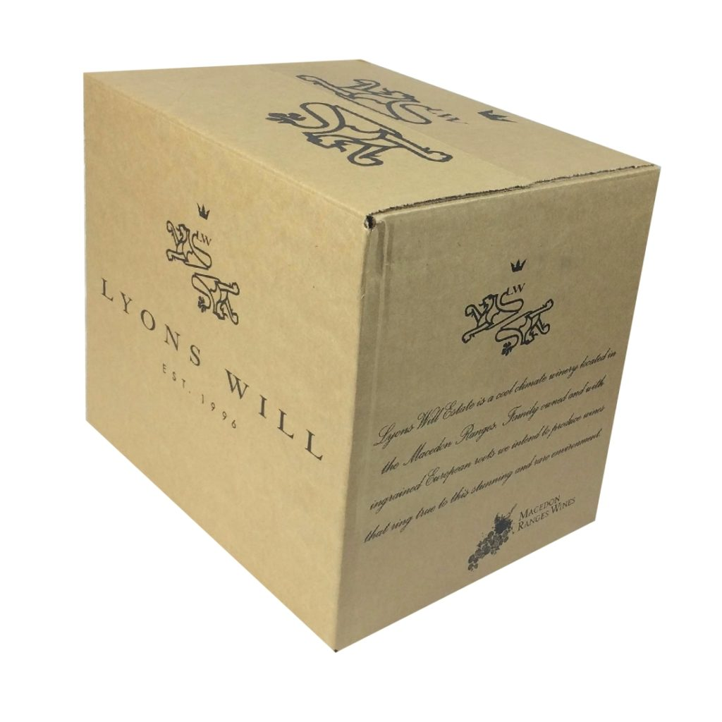 Wine Shipping Box - for 12 Bottles