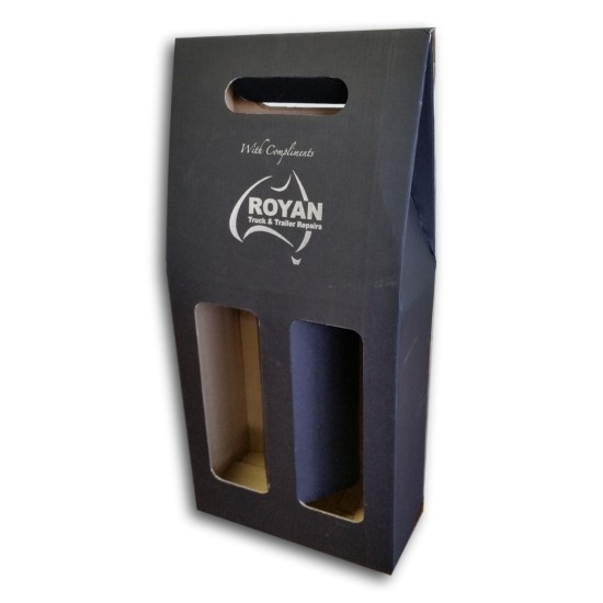 Custom Printed Cardboard Wine Holder