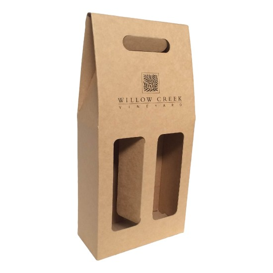 Personalised 2 Bottle Wine Carry Pack