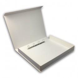 Custom Branded Ring Binder Folder - Open