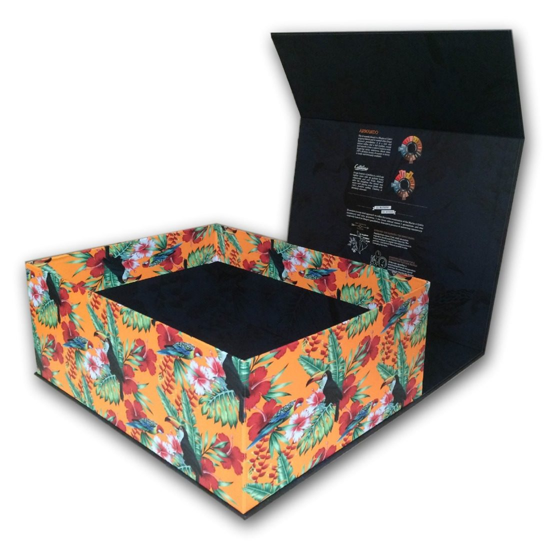 Magnetic Lid Gift Box Open Duncan Packaging