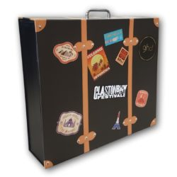 Cardboard Suitcase Box with Handle